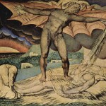 """The Examination of Hiob"" by William Blake"