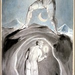 """The Soul Exploring the Recesses of the Grave"" by William Blake"