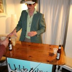 Unkle Thirsty serving good-old Rhode Island lemonade...with a twist!