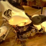 Motorcycle @ Crazy Horse Memorial in South Dakota