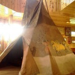 Tepee @ Crazy Horse Memorial in South Dakota