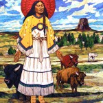 "Angela Babby's ""White Buffalo Calf Woman"""