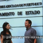 """An American in Puerto Rico"". Film. Directed and starring José Sepúlveda."