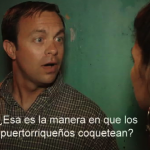 """""""An American in Puerto Rico"""". Film. Directed and starring José Sepúlveda."""