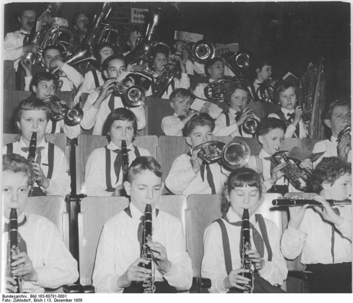German Children Orchestra. Wiki Media Commons.