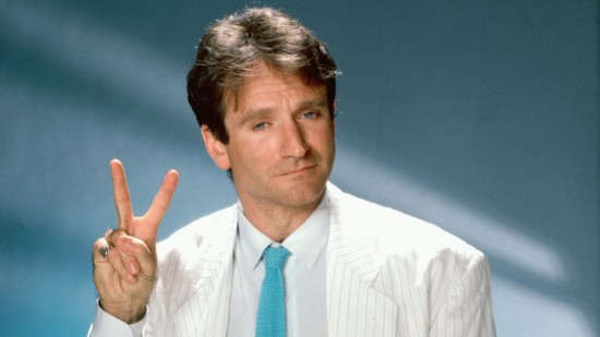 Young Robin Williams